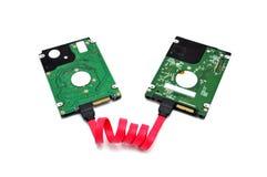 Dois disco duros Imagem de Stock Royalty Free