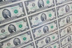 Dois dólares Foto de Stock