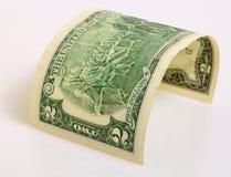 Dois dólares Foto de Stock Royalty Free