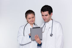 Dois doutores fotos de stock royalty free
