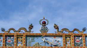 Dois dragões chineses foto de stock royalty free