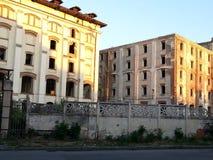 Dois edifícios velhos Foto de Stock