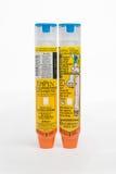 Dois Epipens Foto de Stock