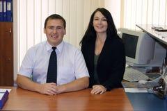 Dois executivos empresariais Fotografia de Stock Royalty Free