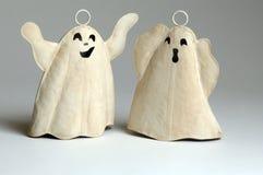 Dois fantasmas fotografia de stock