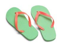 Dois Flip Flops imagem de stock