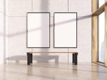 Dois frames em branco ilustração do vetor