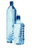 Dois frascos da água Foto de Stock