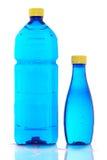 Dois frascos da água mineral Foto de Stock