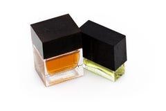 Dois frascos do perfume Imagens de Stock Royalty Free
