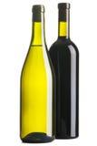 Dois frascos do vinho Imagem de Stock Royalty Free