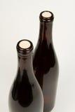 Dois frascos do vinho Imagem de Stock