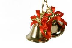 Dois handbells Fotografia de Stock