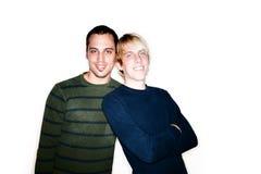 Dois homens fotos de stock royalty free
