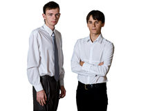 Dois homens Imagem de Stock Royalty Free