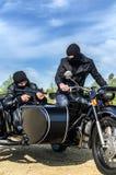 Dois homens armados Imagem de Stock Royalty Free