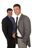 Dois homens de negócios Foto de Stock