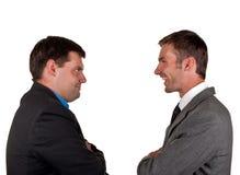 Dois homens de negócios fotografia de stock
