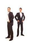Dois homens de negócios bem sucedidos Fotografia de Stock Royalty Free