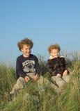 Dois irmãos Imagem de Stock