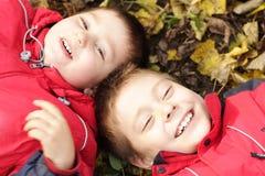 Dois irmãos Fotos de Stock