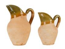 Dois jarros da argila foto de stock royalty free