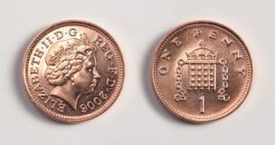 Dois lados da mesma moeda fotografia de stock