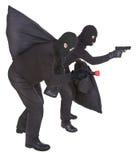 Dois ladrões imagem de stock