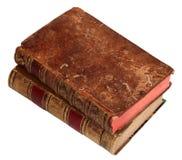 Dois livros velhos imagens de stock royalty free
