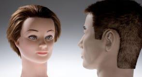 Dois manequins Foto de Stock
