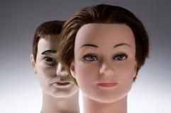 Dois manequins Foto de Stock Royalty Free