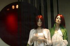 Dois manequins Imagem de Stock