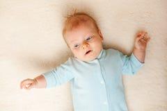 Dois meses de bebê idoso Foto de Stock