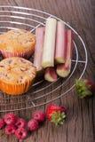 Dois muffin imagem de stock