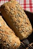 Dois nacos do pão Fotos de Stock