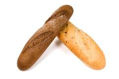 Dois pães. Imagem de Stock Royalty Free
