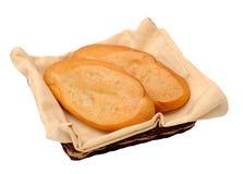 Dois pães Foto de Stock Royalty Free