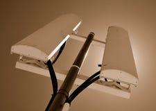 Dois painéis da telecomunicação Foto de Stock Royalty Free