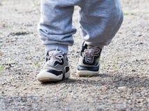 Dois pares de pés, Imagem de Stock