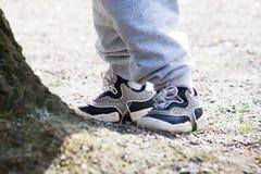 Dois pares de pés, Foto de Stock Royalty Free