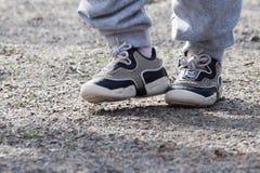 Dois pares de pés, Imagem de Stock Royalty Free
