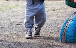 Dois pares de pés, Fotografia de Stock