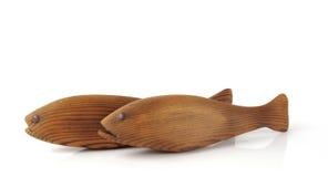 Dois peixes Imagens de Stock