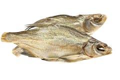 Dois peixes secados Fotografia de Stock Royalty Free