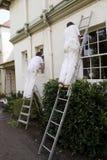 Dois pintores 2 Imagem de Stock Royalty Free