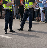 Dois polícias Foto de Stock