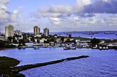 Dois pontos Panamá fotos de stock royalty free