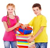 Dois povos adolescentes. Imagem de Stock