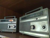 dois rádios fotografia de stock