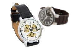 Dois relógios Imagem de Stock